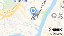 Грузинские каникулы на карте