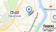 Лагманная на карте