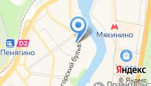 ИНТАН на карте