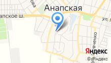 Станичный на карте