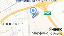 Содружество, ЖСК на карте