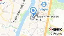 Министерство экологии и природопользования Московской области на карте