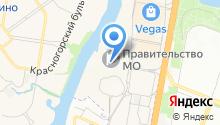 Главное управление Территориальной Политики Московской области на карте
