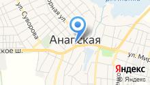 Анапское станичное казачье общество на карте