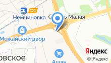 АЗС Сибирьнефть на карте