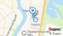 Планета Суши на карте