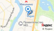 RuDIVE на карте
