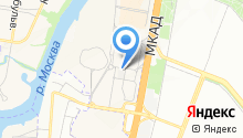 Московский областной гарантийный фонд содействия кредитованию субъектов малого и среднего предпринимательства, НКО на карте
