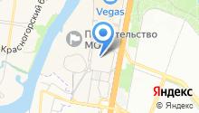 Министерство строительного комплекса Московской области на карте