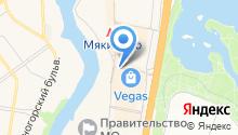 ЛЕДО на карте
