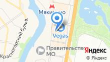 Люксарт на карте