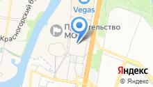 Каффа на карте