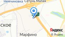 Ауди Центр Запад на карте