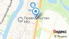 КБ Крокус-банк на карте