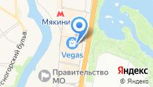Банкомат, КБ Крокус-банк на карте