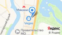 Магазин развивающих игрушек на карте