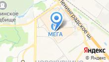 MF на карте