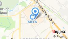 ASH на карте