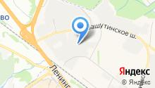 Вашутинский таможенный пост на карте