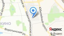 Гаражно-строительный кооператив №18 на карте