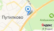 Центральное Лесохозяйственное Объединение, ГАУ на карте
