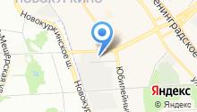 Гаражно-строительный кооператив №29 на карте