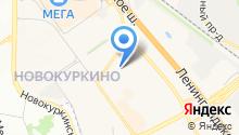 Город Дорог на карте