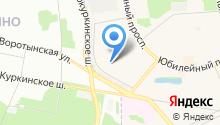 Детский сад №56, Ромашка на карте
