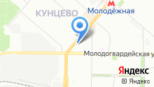 1000 мелочей на Ярцевской на карте