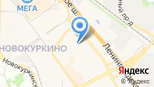 Детский сад №25, Калинка на карте