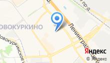 Детский сад №41, Катюша на карте