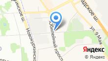 Айсберри на карте