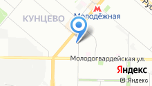 1-я Юридическая консультация г. Москвы, ЗАО на карте