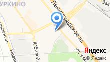 Детский сад №44, Рябинушка на карте