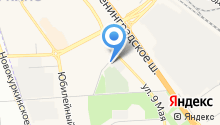 Автозапчасти на Парковой на карте