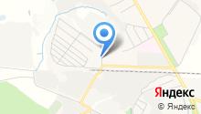 Комсомольский на карте