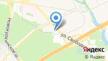 Экс-Ф на карте