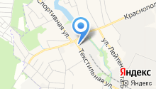 Краснополянская мануфактура на карте
