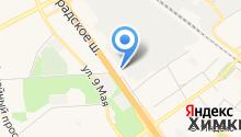 Mebe One Khimki Plaza на карте
