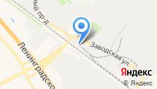 Гаражно-строительный кооператив №16/1 на карте