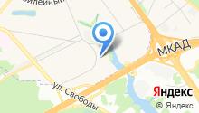 Кантри Парк на карте