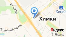 Магазин автозапчастей на ул. Маяковского на карте