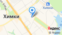Ателье на Московской на карте