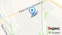 Путевая машинная станция №76 на карте
