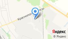 Демидов на карте