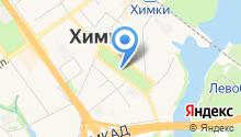 Администрация городского округа Химки на карте
