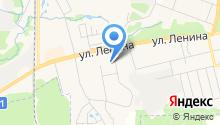 М на карте