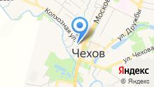 Чеховский отдел вневедомственной охраны на карте