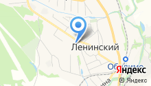 Магазин продуктов на ул. Механизаторов на карте