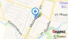 Чеховская городская похоронная служба на карте